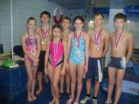 Достойное выступление мирнинских пловцов на Открытом областном детско-юношеском турнире по плаванию «Веселый дельфин»