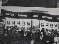 Фото с писателями в музее ГДО
