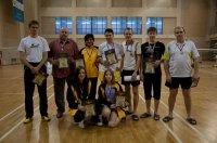 Серебро чемпионата России по бадминтону у мирянина