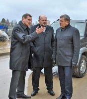 Первый в истории Мирного визит невоенного министра Российской Федерации