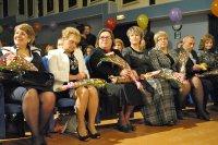 Накануне Дня учителя в Мирном чествовали  педагогов