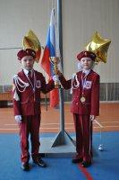Торжественное закрытие военно-спортивной игры дошкольников «Салют, Победа!»