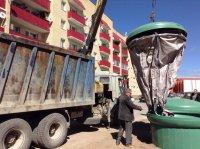 Новая технология сбора мусора теперь и в Мирном