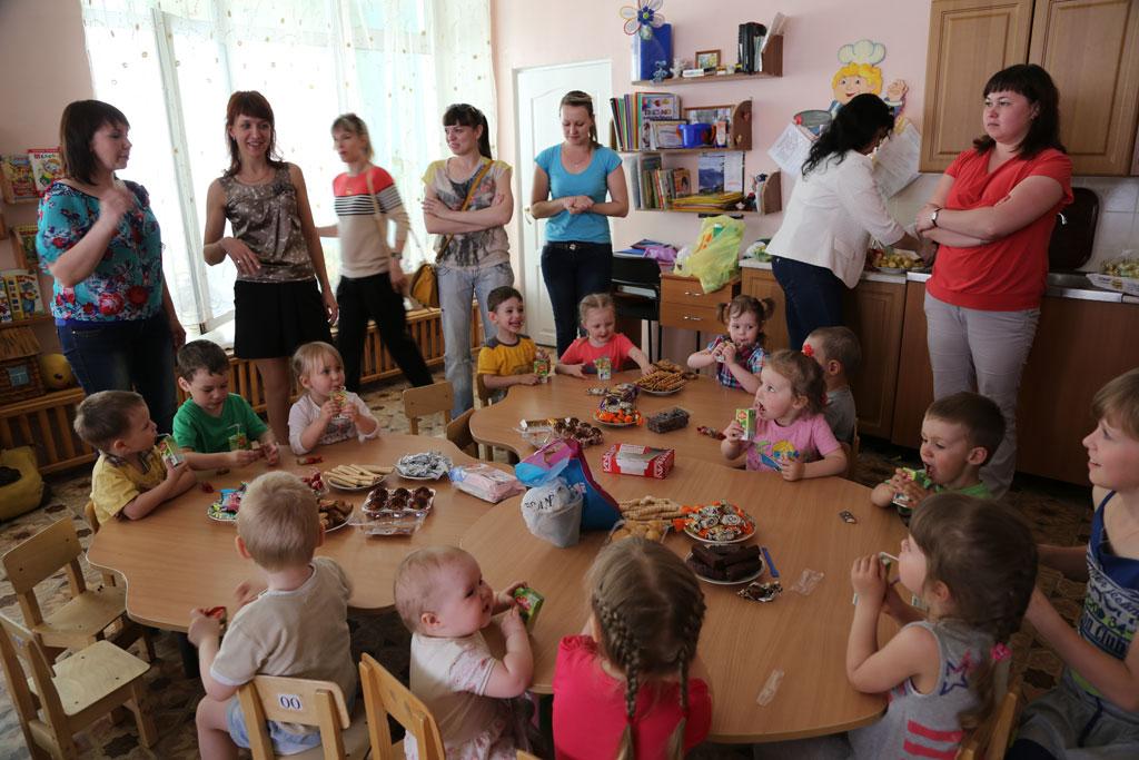 первый раз в детский сад знакомство
