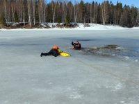 Выход на лёд озера Плесцы  запрещён