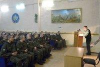 Военная прокуратура гарнизона Мирный совместно с командованием  1 ГИК Минобороны России провела мероприятия  по сплочению воинских коллективов.