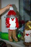 Огненные петушки для новогодней красавицы