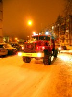 Проезд пожарной техники затруднён