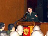 Военные прокуроры приняли участие в месячнике сплочения воинских коллективов