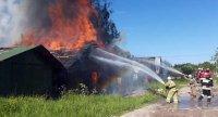 Десять лет на защите от пожаров
