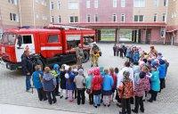 В Мирном прошли тренировки по эвакуации