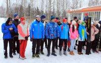 Новогодняя лыжня-2017