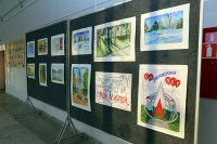 Выставка - конкурс работ детского художественного творчества «Мой Мирный»