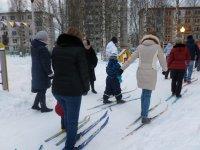 Лыжная туристическая прогулка