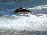 Выход на лёд озера Плесцы запрещён!