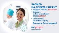 Более 100 тысяч заявок обработано электронной регистратурой zdrav29.ru с начала года