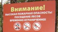 В лесах Архангельской области введен особый противопожарный режим. ЗАПРЕЩЕНО посещение лесов