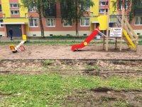 Фотофиксация этапов выполнения работ по благоустройству дворовых и общественных территорий в 2019 году в муниципальном образовании «Мирный»