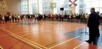 Городской турнир по бадминтону