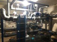 Мирный: Приняты первые тепловые узлы в пяти многоквартирных домах
