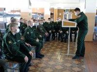 Офицеры военной прокуратуры гарнизона Мирный приняли участие в месячнике «Армия против наркотиков»