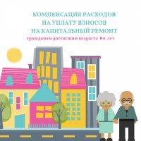 О компенсации расходов по уплате взносов на капитальный ремонт гражданам старше 80 лет