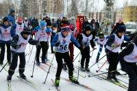 Лыжные гонки – первые в новом году!