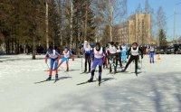 Разыграны медали кубка города по лыжным гонкам