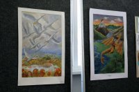 В Детской школе искусств открылась выставка «Каргопольские картинки»