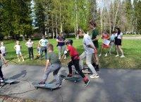 В ожидании скейт-парка: в Мирном прошли мастер-классы для любителей катания на скейтбордах и самокатах