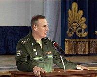 Старшеклассники Мирного встретились с представителями ВКА имени А.Ф.Можайского